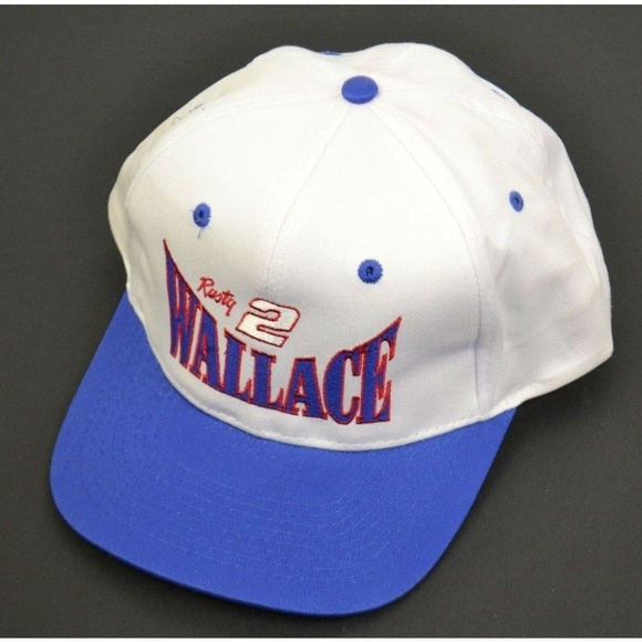 67d3fd040a6 Vintage NASCAR Rusty Wallace Snapback Hat. M 5b60ba8fbb7615f39a0fa18e
